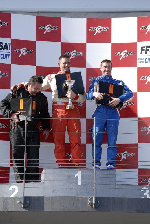 Renaud de CHAPONNIERE – Coupe de FRance des circuits Nogaro 2013